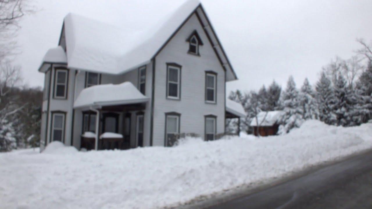 Workshop Snowed in by 3 Feet of Snow