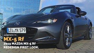2019 Mazda MX-5 Rf Miata | Press Launch Testdrive, Barcelona