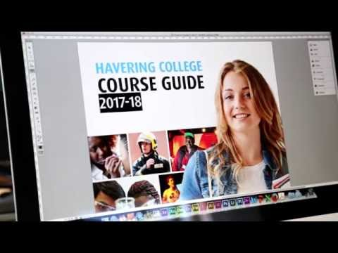 Havering College 2017-18 Course Guide Hot off the Press
