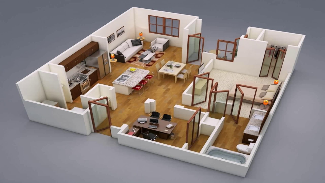 Beautiful House Design For 4 Rooms