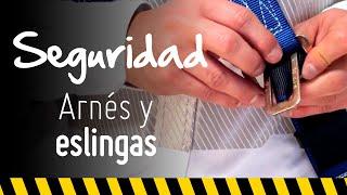 Arnés y eslinga: conozca todo lo que debe saber sobre seguridad industrial   Constructor