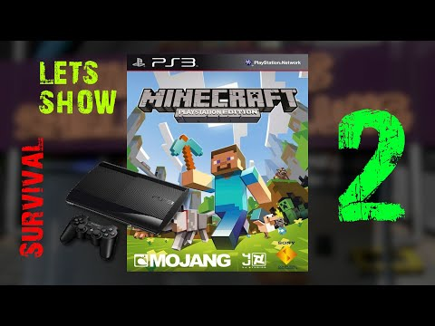 Gameplay : Minecraft : PS3 Edition Survival : Episode 2
