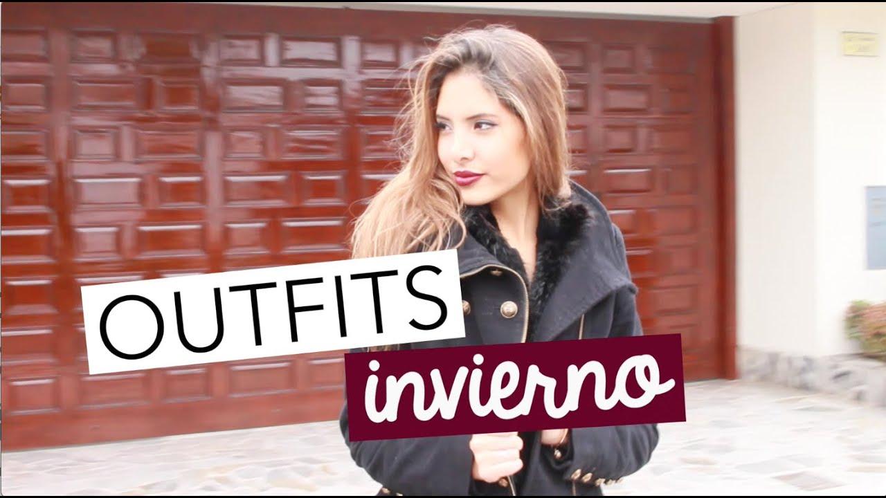 4 OUTFITS INVIERNO | Valeria Basurco
