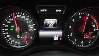 2013 Mercedes CLA 200 Coupé 156 HP 0-100 km/h & 0-100 mph Acceleration