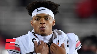 Justin Fields explains why he is petitioning for Ohio State fall football   Keyshawn, JWill & Zubin