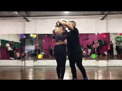 Stephanie Lucero &a Brian Ravazzani - Daniel Santacruz - Bachata _ Desnudos