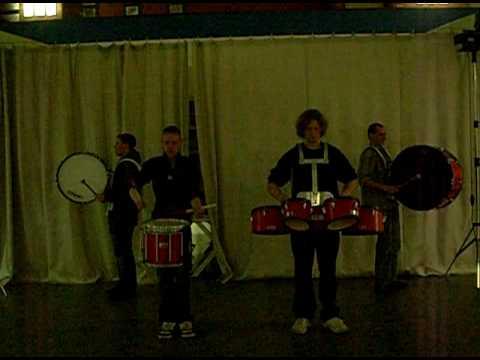 Red Swans Drumline/ Drumsolo 11
