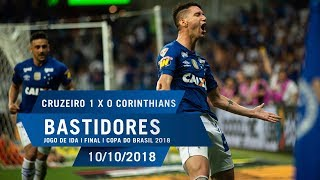 10/10/2018 - Bastidores - Cruzeiro x Corinthians