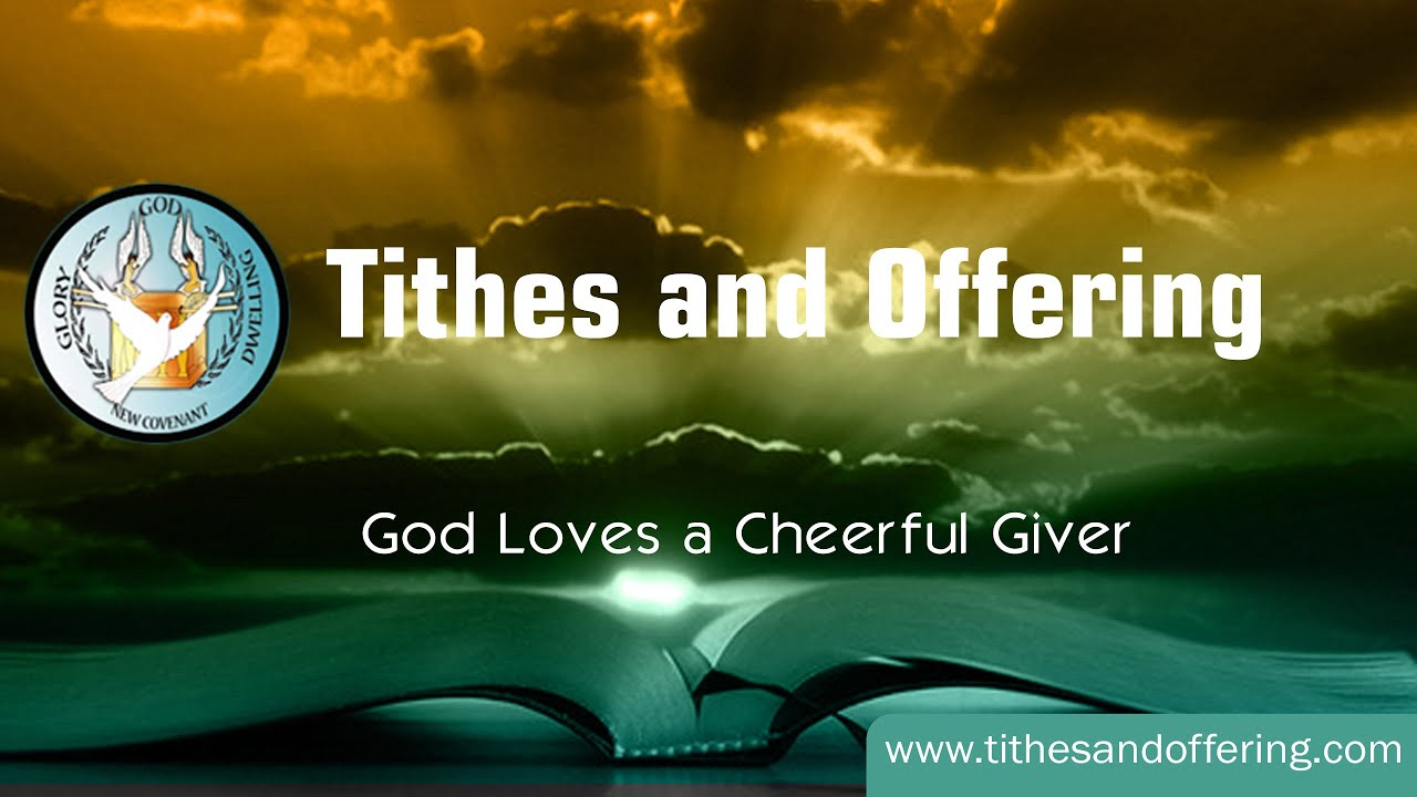 Christian Wallpaper Fall Offering Tithes And Offering How Do You Decide If You Should