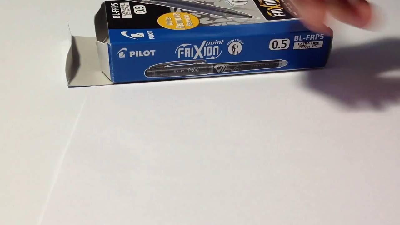 Купить «ручка гелевая, синяя, 0,7 мм, исчезающие чернила» в интернет магазине. Производитель: pilot. Серия: ручки гелевые. Чернила не исчезают и не стираются, а становятся бесцветными под воздействием температуры.