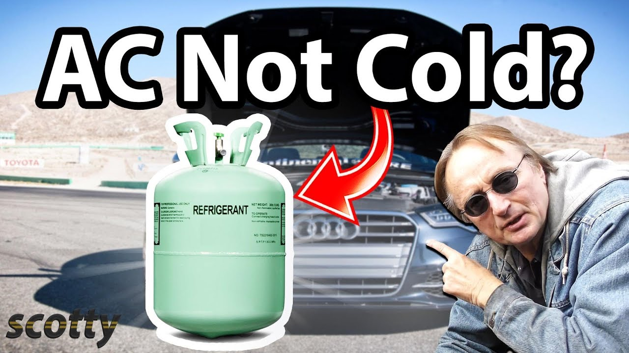 How To Fix Car Ac Thats Not Blowing Cold Air Youtube 1999 Jaguar Diagram