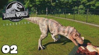 JURASSIC WORLD EVOLUTION 02 - CÉRATOSAURE, Notre Premier Carnivore  - royleviking [FR HD PC]