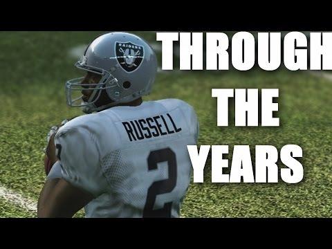 Jamarcus Russell Through The Years - NCAA Football 2005 - Madden 11