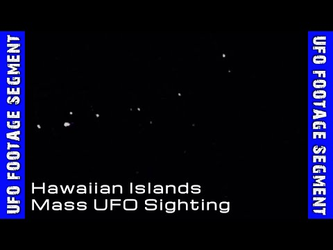 UFO SIGHTINGS • 9 Videos • Hawaii MASS UFO Sighting