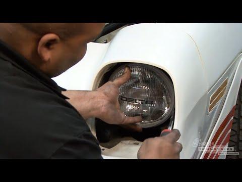 Installing Upgrade Headlights For 1970-81 Camaro / Firebird