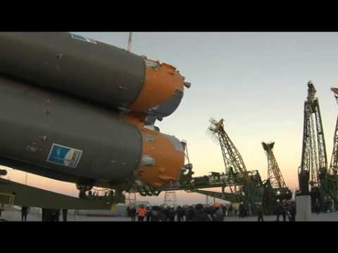 Soyuz Rocket Ready to Launch New Space Crew | Video