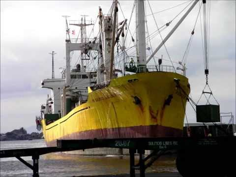 Philippine Passenger Ships, Cargo Vessels and Tanker Ships.wmv