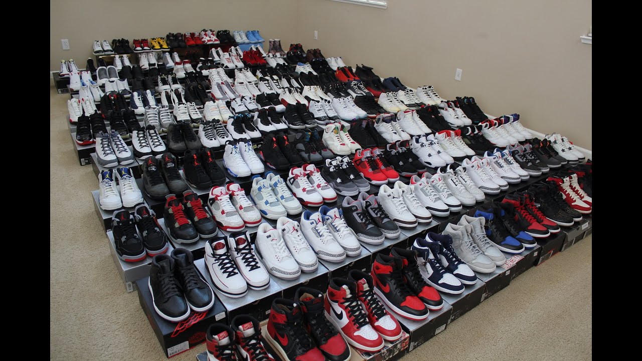 9f7657048ad0 My Entire Air Jordan Collection - Part 2 - YouTube
