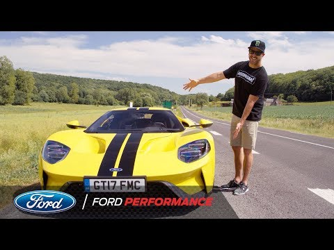 Ken Block Test Drives The Ford GT in France | Le Mans | Ford Performance