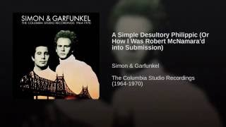 A Simple Desultory Philippic (Or How I Was Robert McNamara