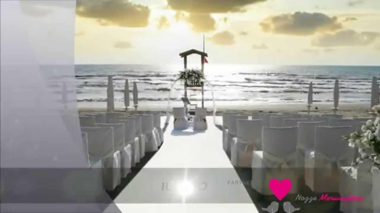Matrimonio Sulla Spiaggia Bacoli : Kanathè location per matrimoni in spiaggia youtube