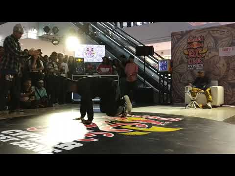 BBoy Tech Foot VS BBoy Nishant | Top 16 | Red Bull BC One India East Zone Cypher