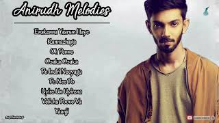 Anirudh Melodies |JukeboxI Tamil Songs ILove SongsI Melody Songs |Tamil Hits| Sad Songs |eascinemas