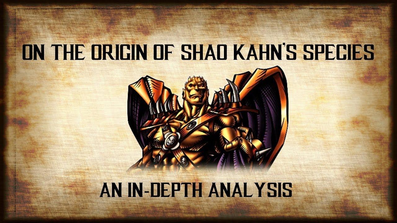 On the Origin of Shao Kahn's Species - Mortal Kombat Online