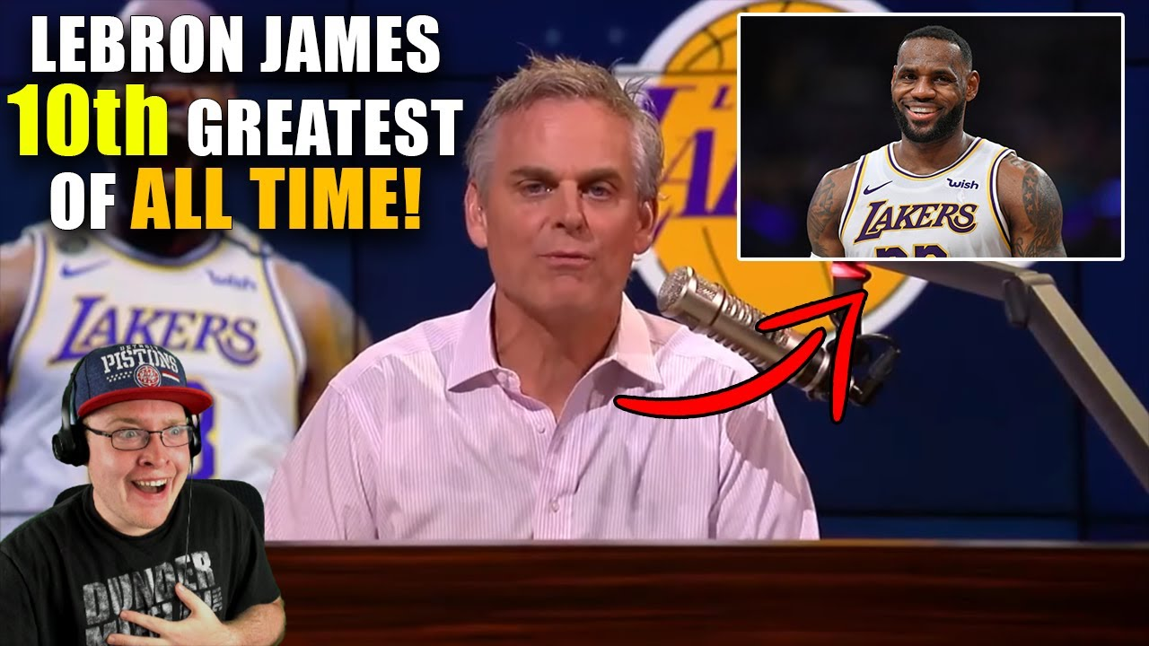 Reacting To Colin Cowherd Lebron James 10th Greatest NBA Player Of All Time