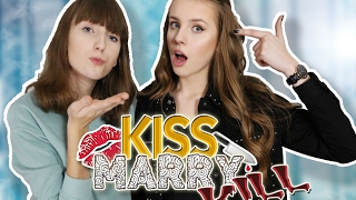 KISS MARRY KILL CHALLENGE z Maddie! | VictoriaBarbae