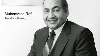 Hum bekhudi mein tumko pukare chale gaye Muhammad Rafi