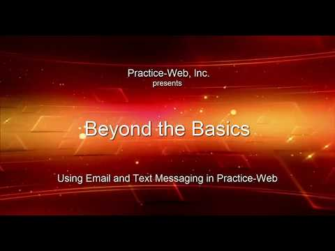 Using Email and Text Messaging in Practice-Web