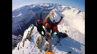 Sunnmørsalpane ski touring trip