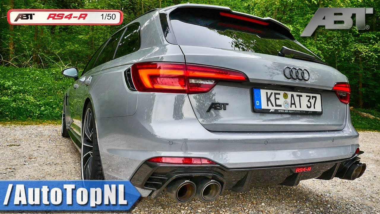 Audi Rs4 R Abt 530hp Loud Exhaust Sound Revs By Autotopnl Youtube
