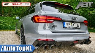 Audi RS4-R ABT 530HP LOUD! Exhaust Sound & REVS by AutoTopNL