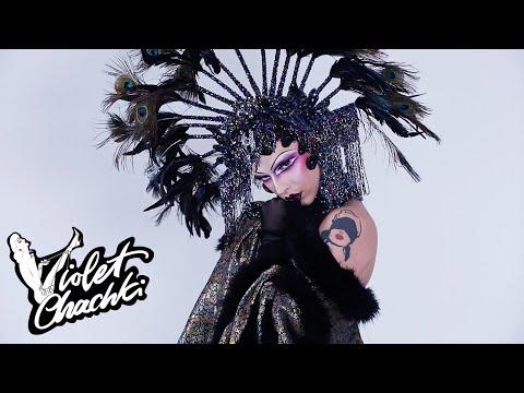 ERTÉ ART DECO MAKEUP | Violet Chachki's Digital Drag thumbnail