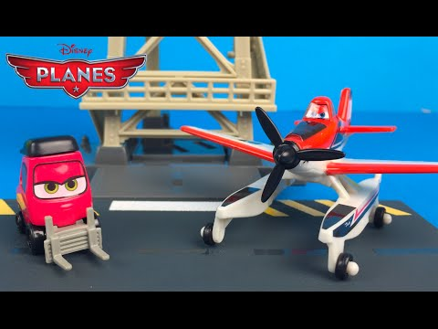 Disney Planes Fire And Rescue Control Tower Dusty