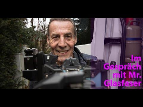 Social Media Post: Im Gespräch mit Mr. Glasfaser