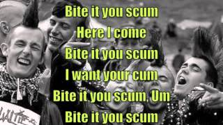 Bite it you scum - G.G. Allin - Lyrics