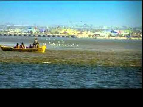 Triveni Sangam, in Prayag (Allahabad), Video 1