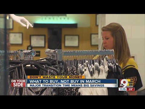 What to buy, not to buy in March