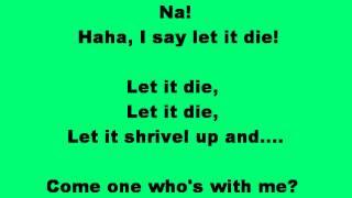The Lorax-Let It Grow-Lyrics