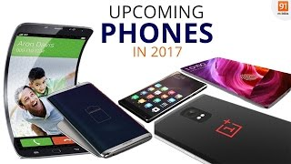 Top 7 Smartphones Expected To Launch in India in 2017 [Hindi-हिन्दी]