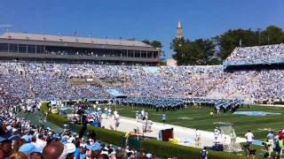 UNC Football Game Day - September 18, 2010