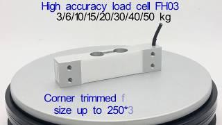 Capteur de pesage Mesure de poids 0-50 kg