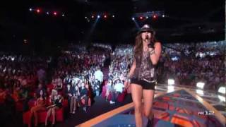 Miley Cyrus Party in the USA Live Live at TCA 2009