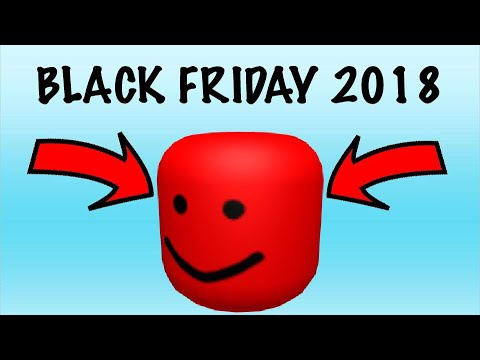 How To Get The Biggerhead Roblox Black Friday 2018 Youtube