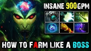 [Medusa] How to Farm Like a Boss 900GPM by Kaka | Dota 2 FullGame