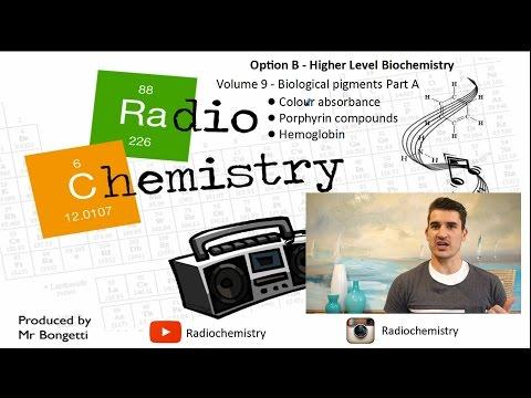 Option B: Biochemistry - B9 Biological Pigments