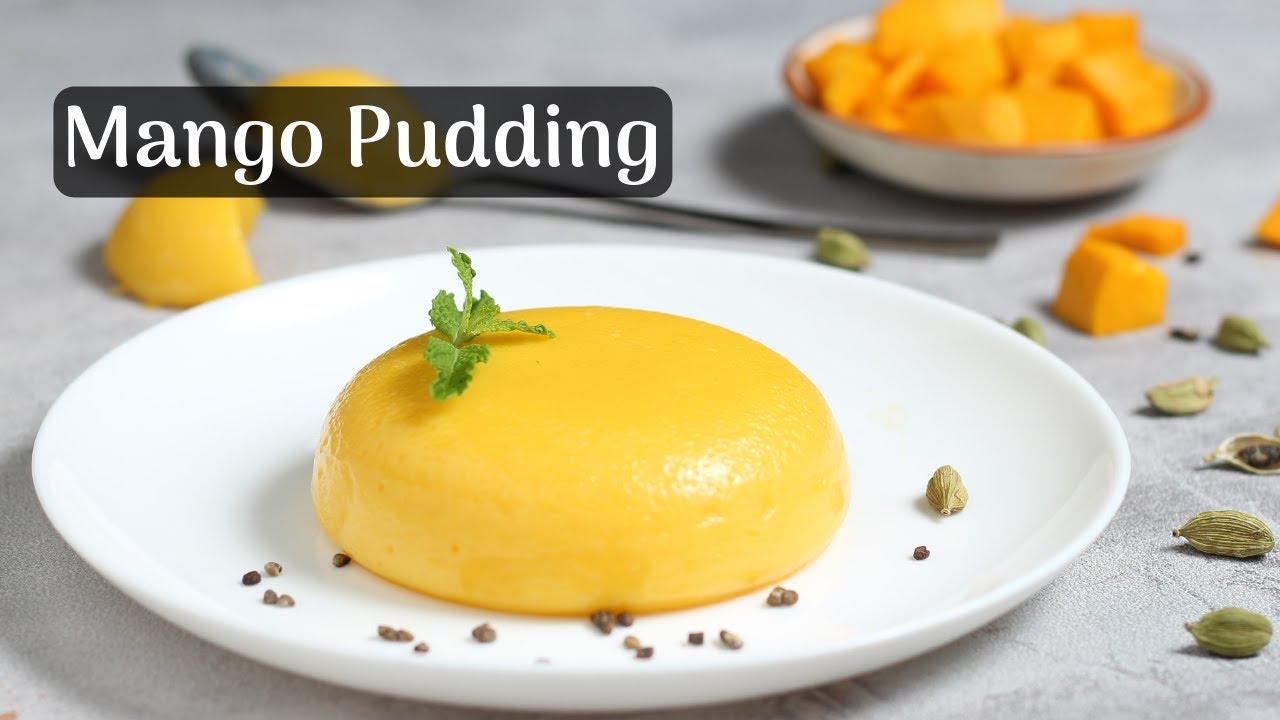 Quick Mango Pudding Recipe Mango Panna Cotta Mango Pudding Dessert Cooking With Siddhi Youtube